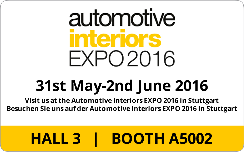 Automotive Interiors Expo 2015